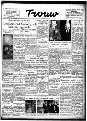 Trouw / De Rotterdammer 1954-03-08