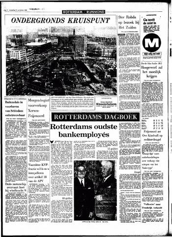 Rotterdamsch Parool / De Schiedammer 1966-11-30