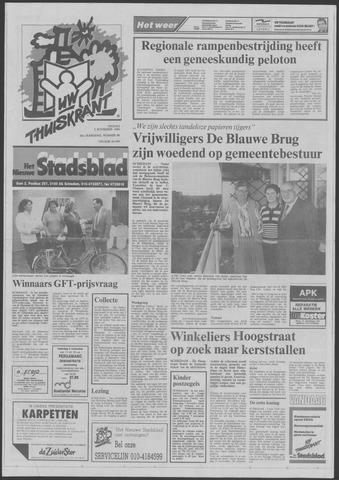 Het Nieuwe Stadsblad 1990-11-02