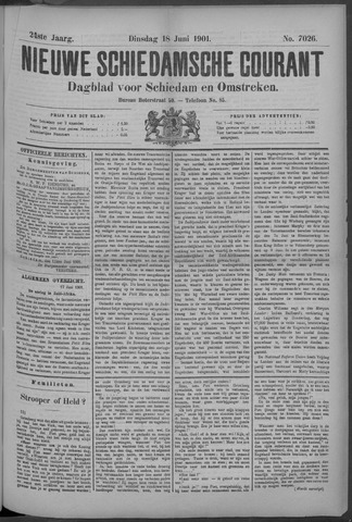 Nieuwe Schiedamsche Courant 1901-06-18