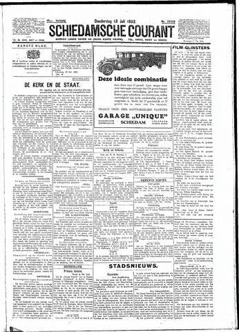 Schiedamsche Courant 1933-07-13