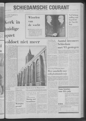 Rotterdamsch Nieuwsblad / Schiedamsche Courant / Rotterdams Dagblad / Waterweg / Algemeen Dagblad 1970-04-06