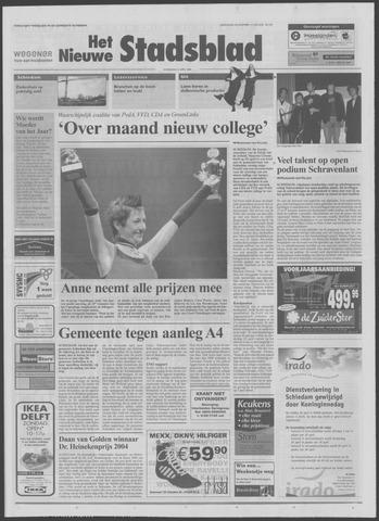 Het Nieuwe Stadsblad 2004-04-21