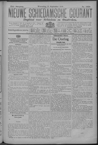 Nieuwe Schiedamsche Courant 1918-09-11
