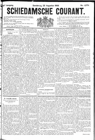 Schiedamsche Courant 1908-08-20