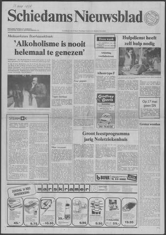 Schiedams Nieuwsblad 1978-05-10