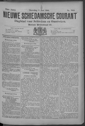 Nieuwe Schiedamsche Courant 1901-06-08