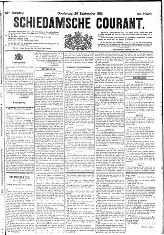 Schiedamsche Courant 1912-09-26