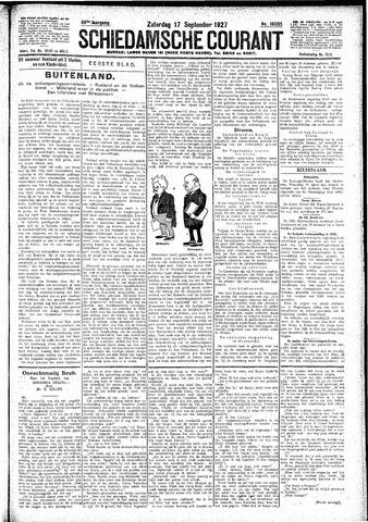 Schiedamsche Courant 1927-09-17