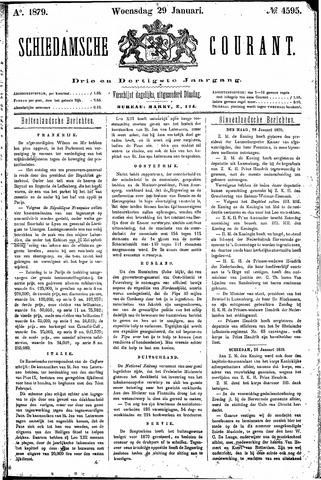 Schiedamsche Courant 1879-01-29