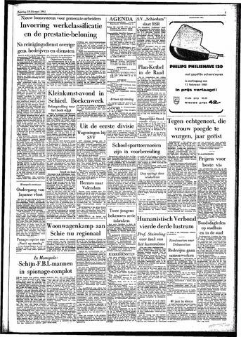 Rotterdamsch Parool / De Schiedammer 1961-02-18