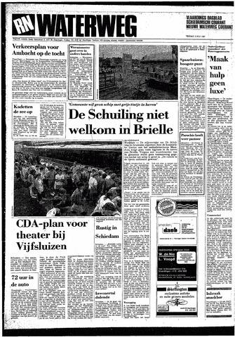 Rotterdamsch Nieuwsblad / Schiedamsche Courant / Rotterdams Dagblad / Waterweg / Algemeen Dagblad 1987-07-03