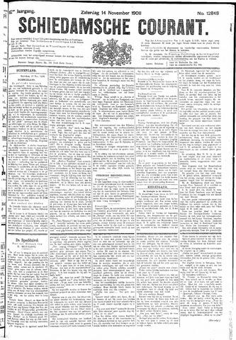 Schiedamsche Courant 1908-11-14