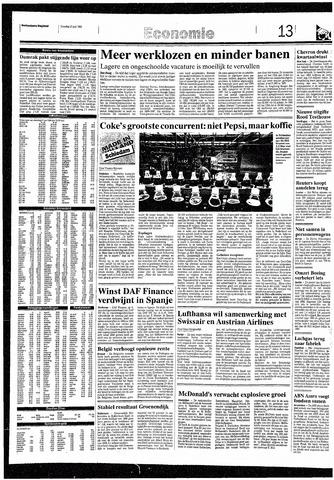 Rotterdamsch Nieuwsblad / Schiedamsche Courant / Rotterdams Dagblad / Waterweg / Algemeen Dagblad 1993-07-27