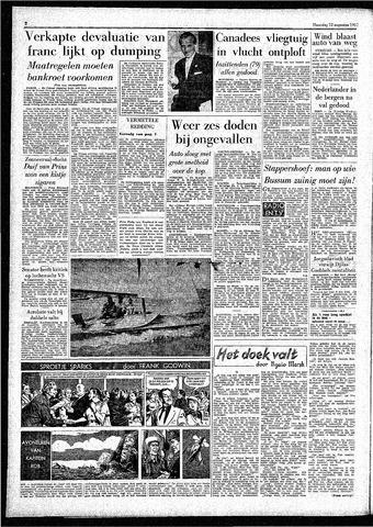 Rotterdamsch Parool / De Schiedammer 1957-08-12