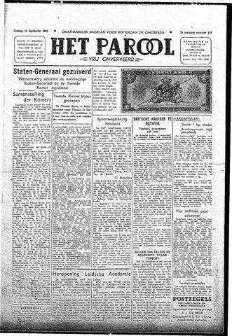 Rotterdamsch Parool / De Schiedammer 1945-09-18
