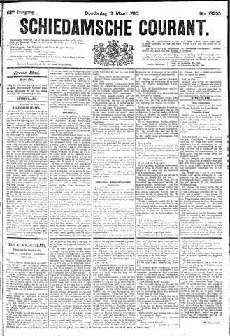 Schiedamsche Courant 1910-03-17