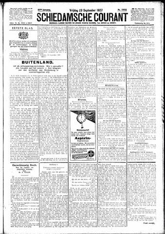 Schiedamsche Courant 1927-09-23