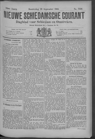 Nieuwe Schiedamsche Courant 1901-09-26