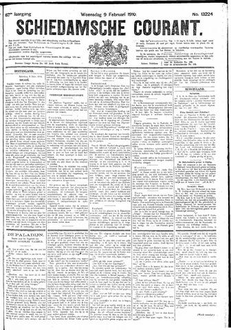 Schiedamsche Courant 1910-02-09