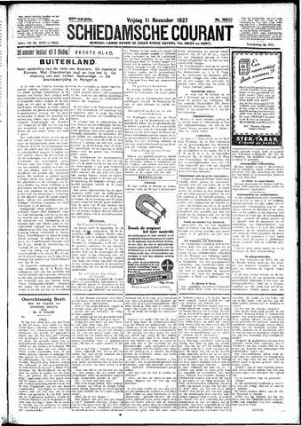 Schiedamsche Courant 1927-11-11