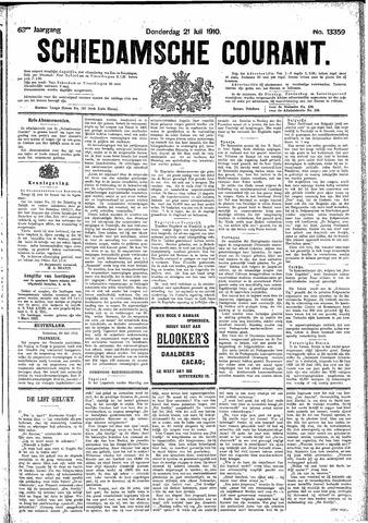 Schiedamsche Courant 1910-07-21