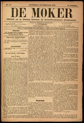 De Moker 1905-02-18