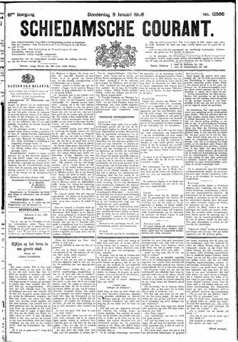 Schiedamsche Courant 1908-01-09
