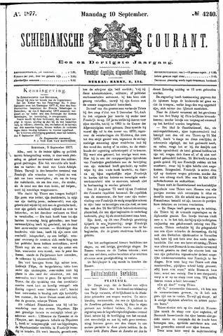 Schiedamsche Courant 1877-09-10