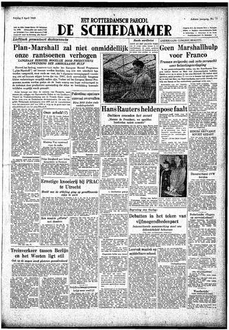 Rotterdamsch Parool / De Schiedammer 1948-04-02