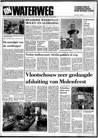 Rotterdamsch Nieuwsblad / Schiedamsche Courant / Rotterdams Dagblad / Waterweg / Algemeen Dagblad 1987-05-11