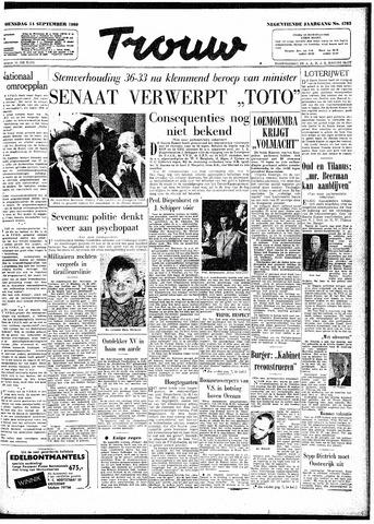 Trouw / De Rotterdammer 1960-09-14