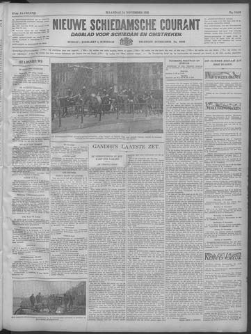 Nieuwe Schiedamsche Courant 1932-11-14