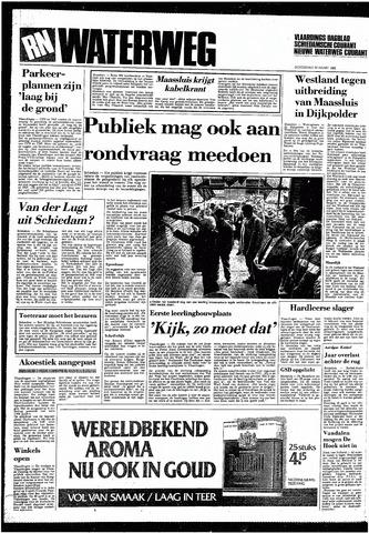 Rotterdamsch Nieuwsblad / Schiedamsche Courant / Rotterdams Dagblad / Waterweg / Algemeen Dagblad 1985-03-28
