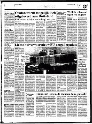 Rotterdamsch Nieuwsblad / Schiedamsche Courant / Rotterdams Dagblad / Waterweg / Algemeen Dagblad 1998-11-24