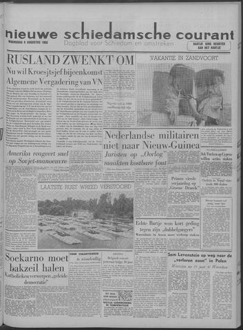 Nieuwe Schiedamsche Courant 1958-08-06