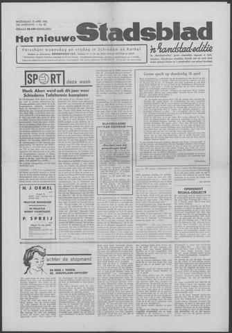 Het Nieuwe Stadsblad 1963-04-10