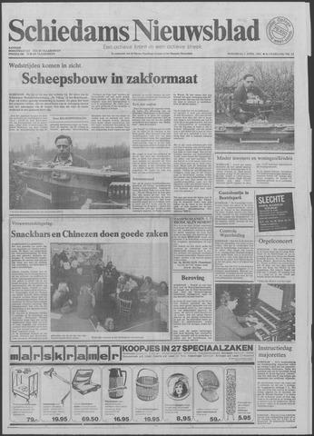 Schiedams Nieuwsblad 1981-04-01