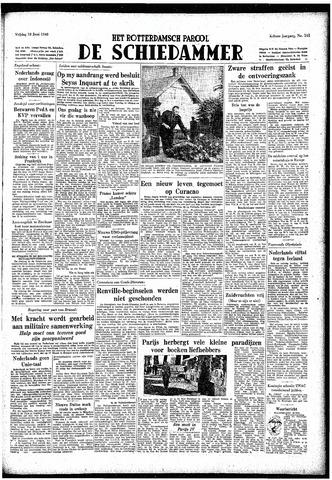 Rotterdamsch Parool / De Schiedammer 1948-06-18