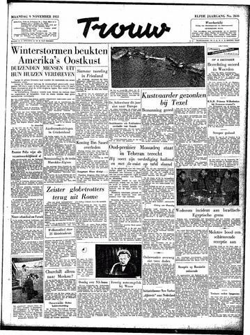 Trouw / De Rotterdammer 1953-11-09