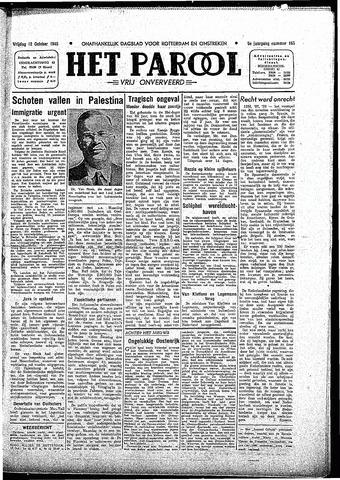 Rotterdamsch Parool / De Schiedammer 1945-10-12