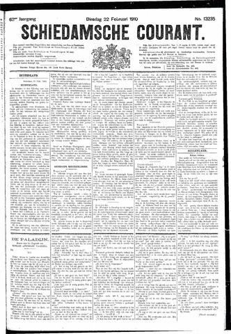 Schiedamsche Courant 1910-02-22