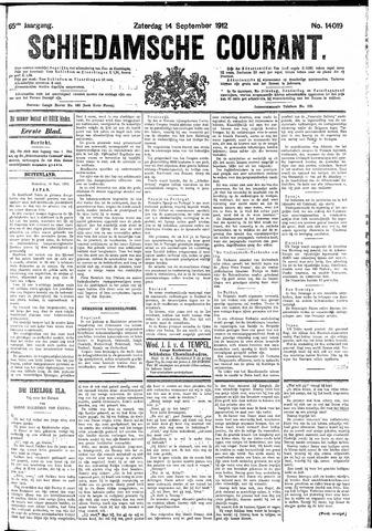 Schiedamsche Courant 1912-09-14