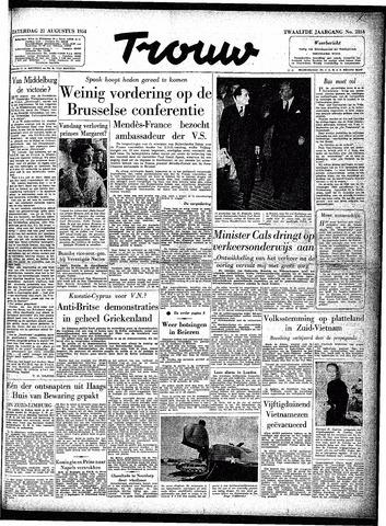 Trouw / De Rotterdammer 1954-08-21