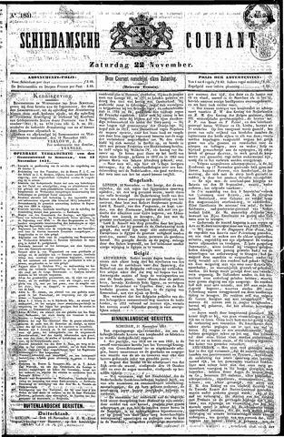 Schiedamsche Courant 1851-11-22