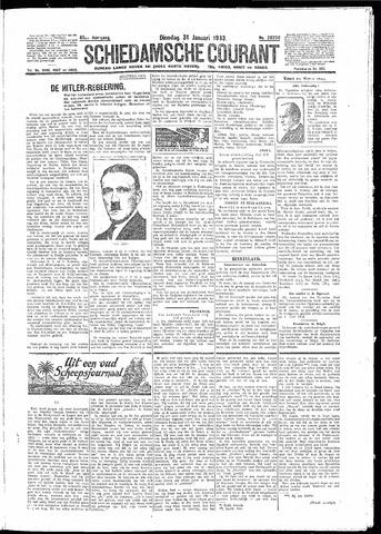 Schiedamsche Courant 1933-01-31