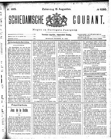 Schiedamsche Courant 1885-08-15