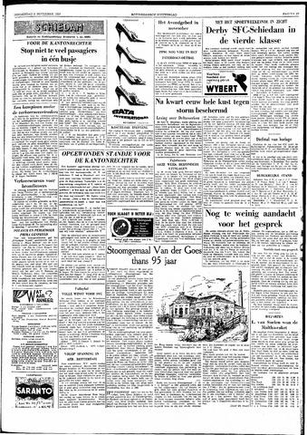 Rotterdamsch Nieuwsblad / Schiedamsche Courant / Rotterdams Dagblad / Waterweg / Algemeen Dagblad 1959-11-05