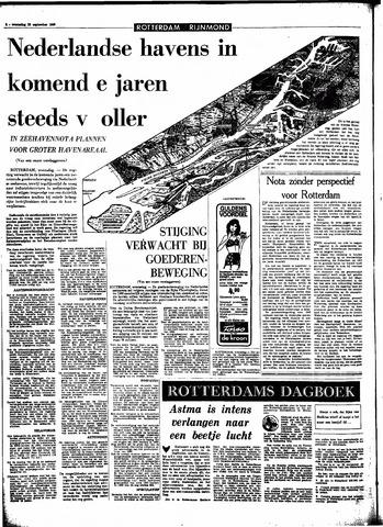 Rotterdamsch Parool / De Schiedammer 1966-09-28
