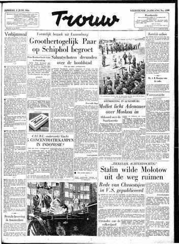 Trouw / De Rotterdammer 1956-06-05